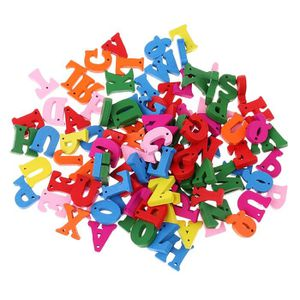 JEU D'APPRENTISSAGE JEU D'APPRENTISSAGE 100 pièces Alphabet en bois Le
