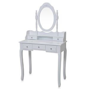 COIFFEUSE Makika Coiffeuse Table de Maquillage Commode de Ma