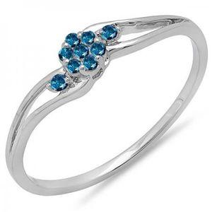 BAGUE - ANNEAU Bague Femme Diamants 0.10 ct 471-1000  14 ct 585-1