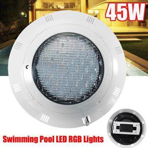 PROJECTEUR - LAMPE NEUFU 12V 45W Piscine LED Lumière Télécommande Imp