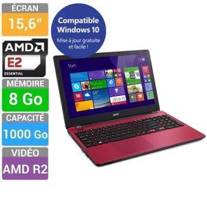 """ORDINATEUR PORTABLE ACER Aspire E5-521-20AP PC Portable 15,6"""" - AMD Qu"""