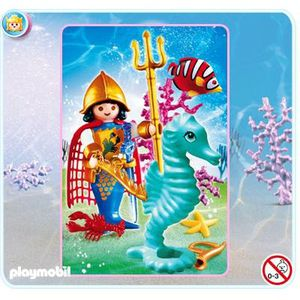 FIGURINE - PERSONNAGE PLAYMOBIL - A0904969 - FIGURINE - PRINCE DES MERS