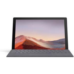 """Vente PC Portable NOUVEAU Microsoft Surface - Pro 7 - 12.3"""" - Core i5 - RAM 8Go - Stockage 256Go SSD - Platine pas cher"""