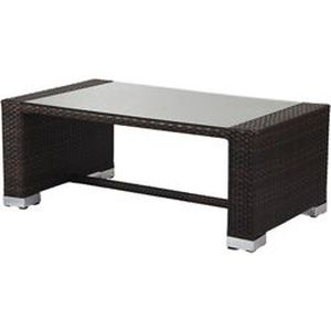 table basse en resine tressee jamaique achat vente table basse jardin table basse en resine. Black Bedroom Furniture Sets. Home Design Ideas