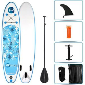 STAND UP PADDLE ROHE Pack Stand Up Paddle Gonflable Flower 10'6/32