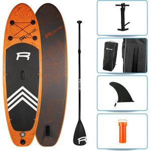 STAND UP PADDLE ROHE Pack Paddle Gonflable Havane II - 274x76x13 c