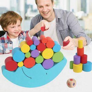 ASSEMBLAGE CONSTRUCTION 1 Set Bebe Enfants Jouets Moon Balance Jeu et Jeux