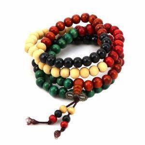 BRACELET - GOURMETTE Bracelet charms et perle Bois Mixte Multicolore wz