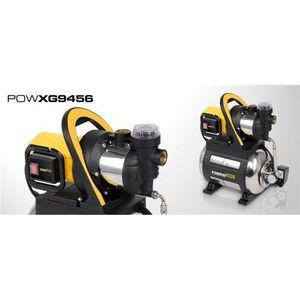 POMPE - FILTRATION  POWERPLUS Groupe de surpression 1200W 3800l/h Cart