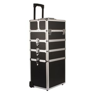 VALISE - BAGAGE Yorbay Malette Maquillage trolley 4-in-1 Trolley M
