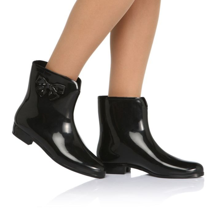 mel bottes de pluie ankle boots sp ad femme femme noir achat vente mel ankle boots sp ad. Black Bedroom Furniture Sets. Home Design Ideas