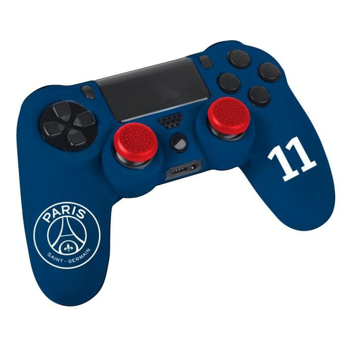 kit pour manette ps4 psg achat vente housse de transport kit manette ps4 psg cdiscount. Black Bedroom Furniture Sets. Home Design Ideas