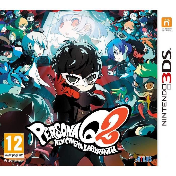 JEU NEW 3DS - 3DS XL Persona Q2 : New Cinema Labyrinth Jeu 3DS