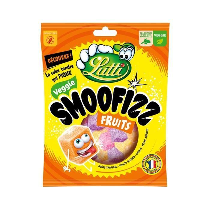 LUTTI Guimauves Smoofizz Fruits - 200 g
