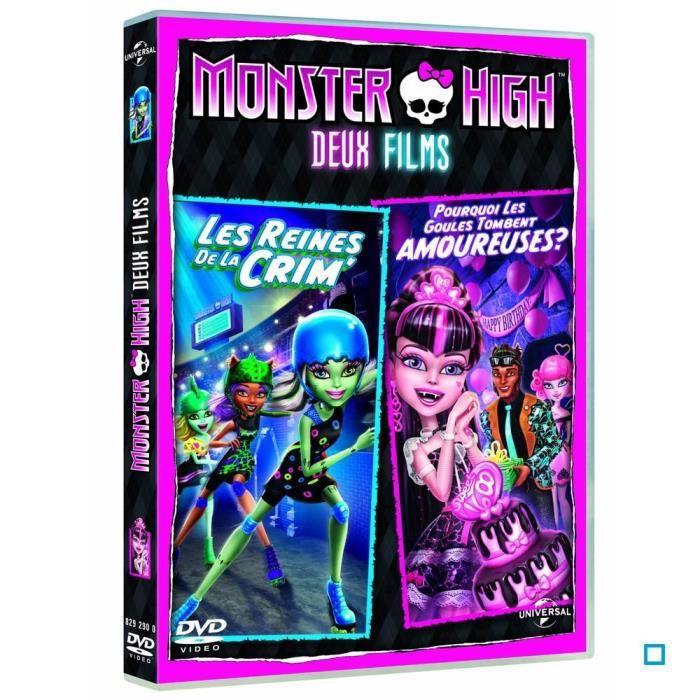 DVD Monster high : les reines de la crim' po...