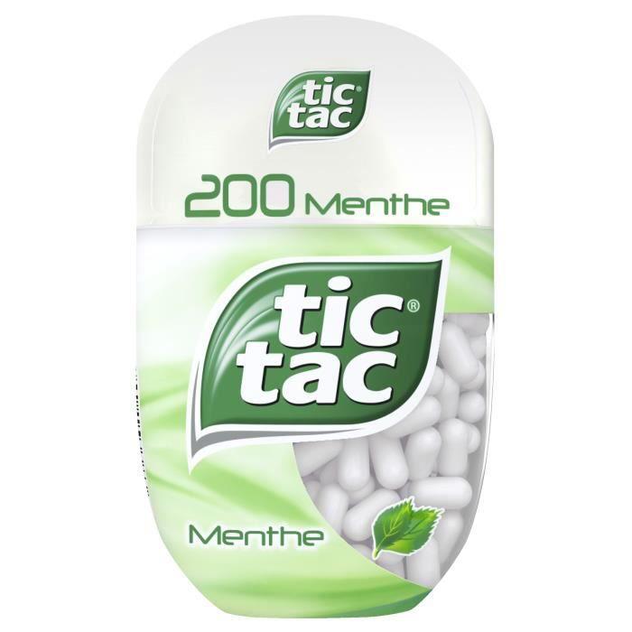TICTAC Pastilles à la menthe T200 - 98 g
