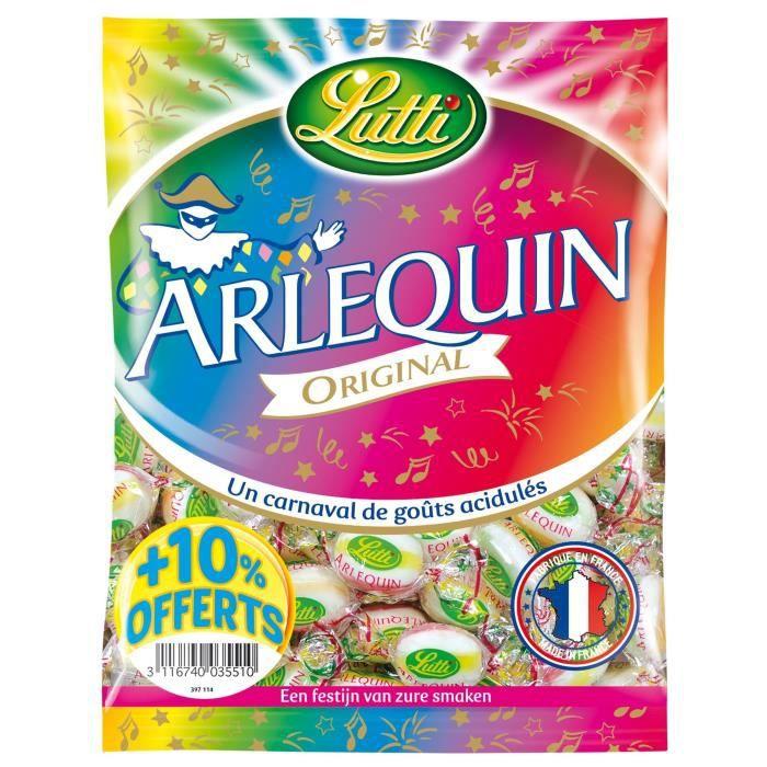 LUTTI Arlequin Bonbons acidulés Cocktail - 320 g