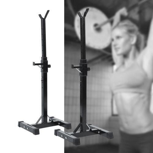 Repose Barre Musculation Support De Haltère