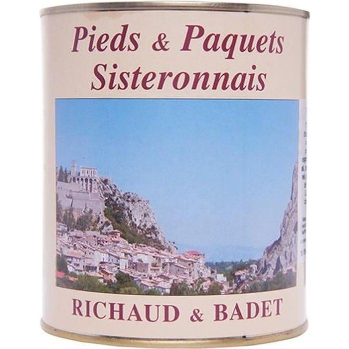 Pieds et Paquets Richaud Badet 820 gr
