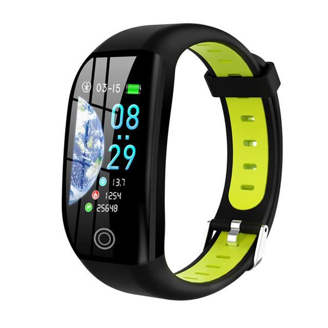 Extérieur bracelet connecté, moniteur d'activité physique avec Distance GPS, étanche IP68, tension artérielle, moniteur de sommeil