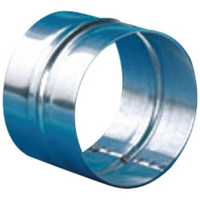 Manchon D : 100 mm - tôle galvanisée