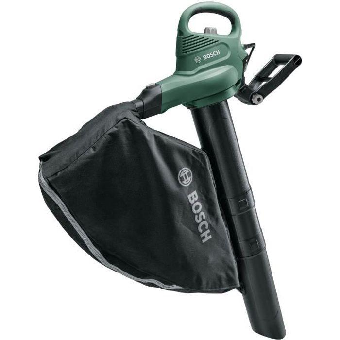 Aspirateur/Souffleur/Broyeur filaire Bosch - Universal Garden Tidy (sac de 45 litres, jusqu'à 285km/h) 1800 W