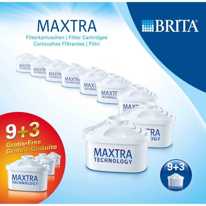 BRITA Pack de 12 cartouches Maxtra