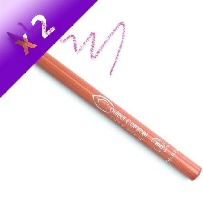 COULEUR CARAMEL Crayon lèvres beige rosé (Lot de 2)