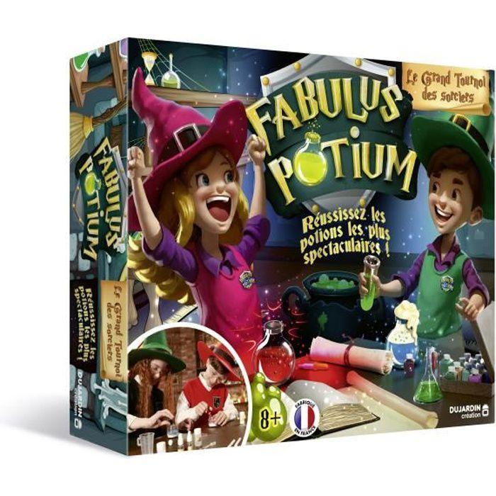 FABULUS POTIUM - 41500 - Participez au plus grand tournoi des sorciers pour réaliser les potions les plus impressionnantes!