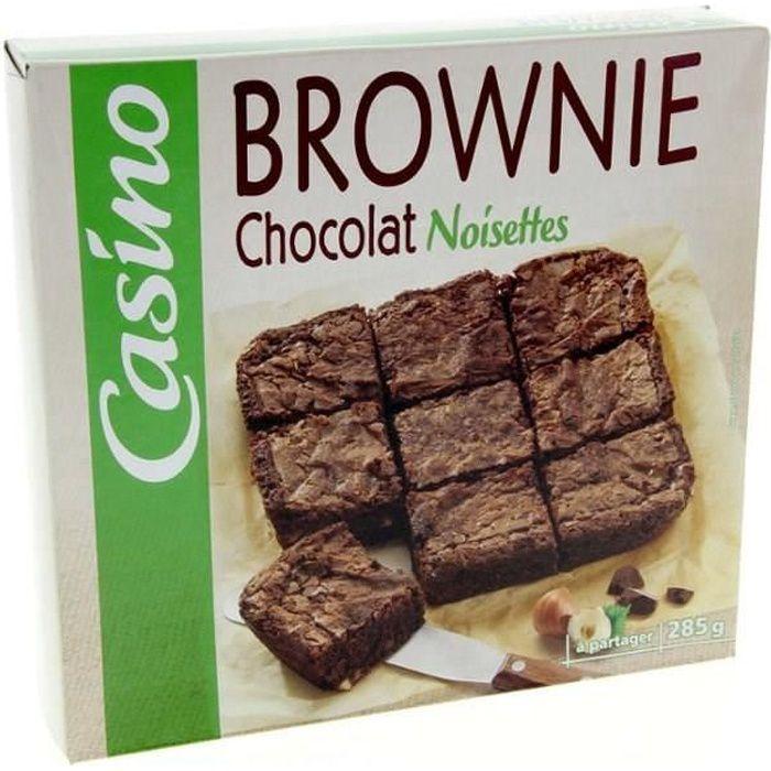 CASINO Brownie aux Pépites de Chocolat 285g