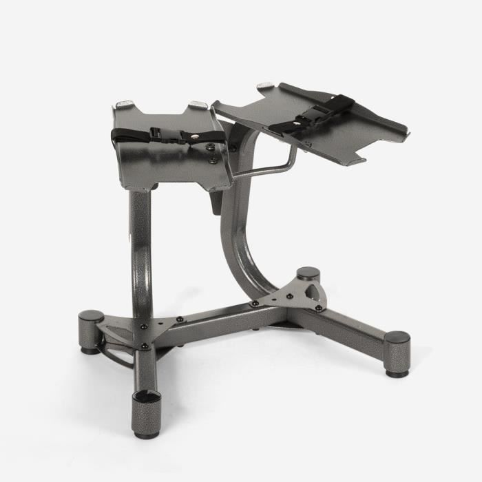 Support d'haltères à charge variable pour salle de gym fitness Keeper