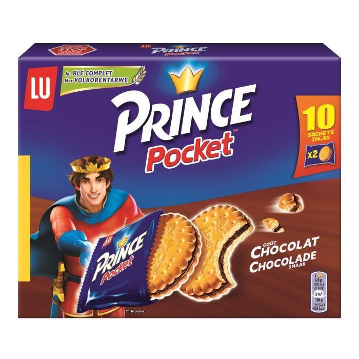 Biscuits fourrés au chocolat 400g Prince