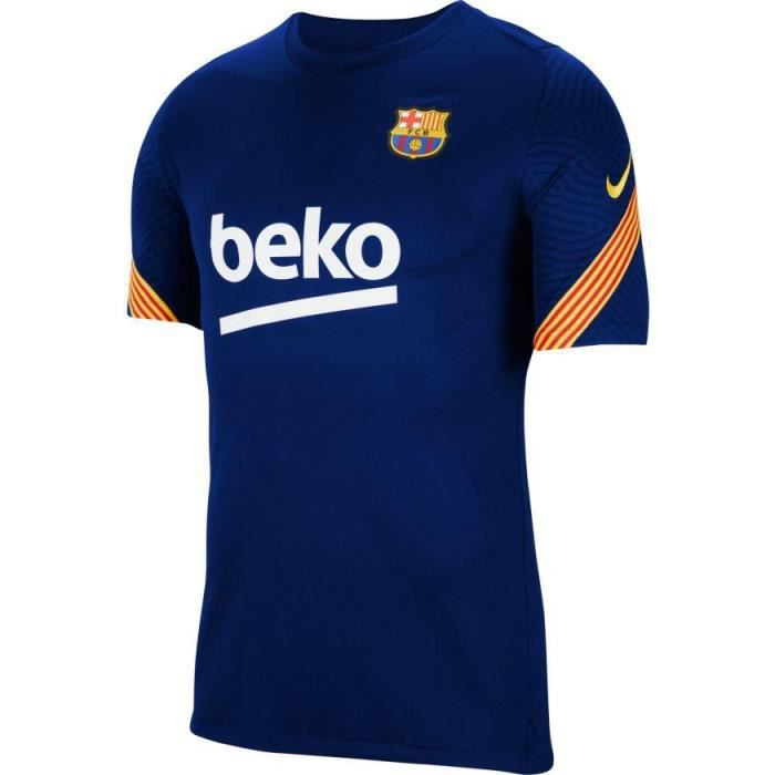 MAILLOT TRAINING FC BARCELONE BLEU ADULTE 2020/21