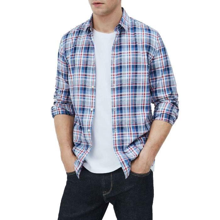 Chemise Pepe Jeans Brooks Bleu Claro pour Homme