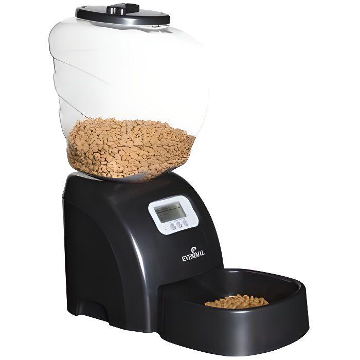 distributeur croquettes pour chat automatique