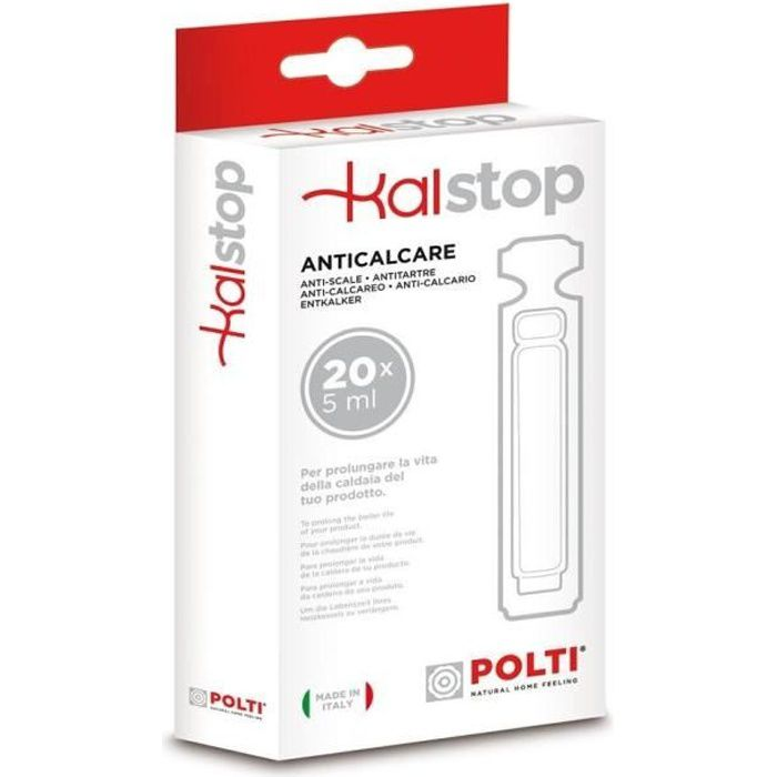 POLTI PAEU0094 Anti-calcaire naturel KalStop