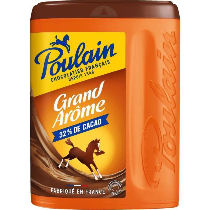 POULAIN Chocolat Grand Arôme Boîte - 800 g