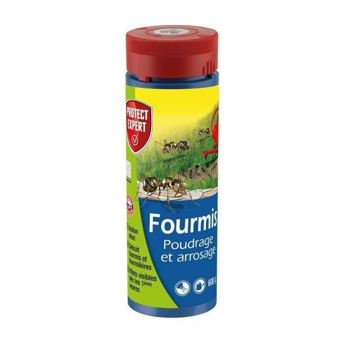 Protect Expert FOURPOUD600 Fourmis - Poudrage Et Arrosage - 600 g Pex