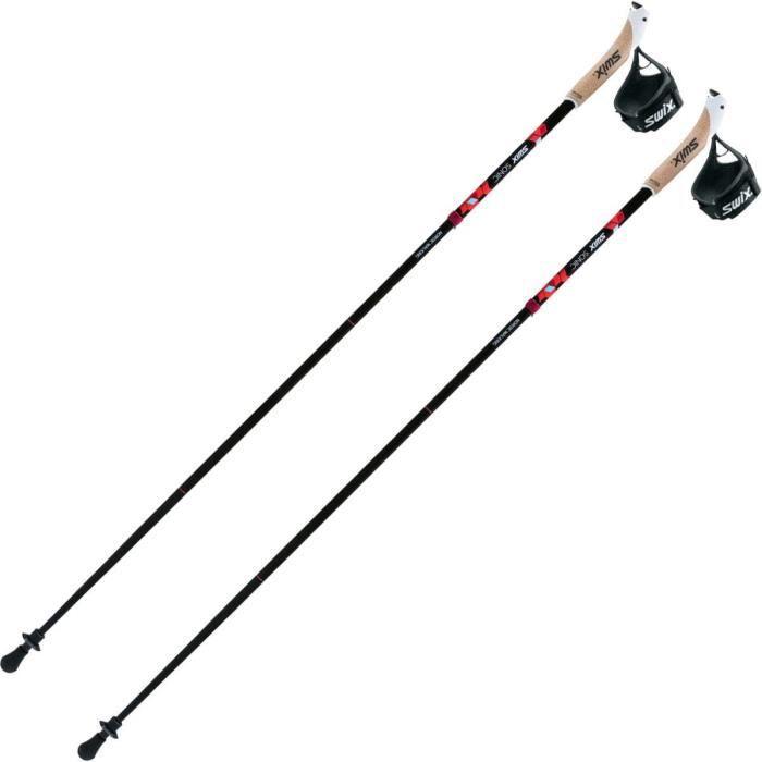 Bâtons de marche nordique Swix Pliable Alu - noir - 130 cm