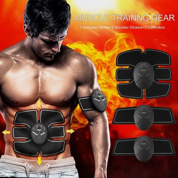 TEMPSA Abdominale Ceinture Appareil Fitness Musculation Electrostimulateur Muscle Kit