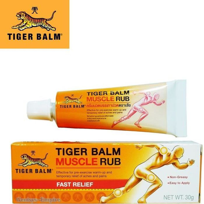 Baume du tigre Muscle Rub 30g