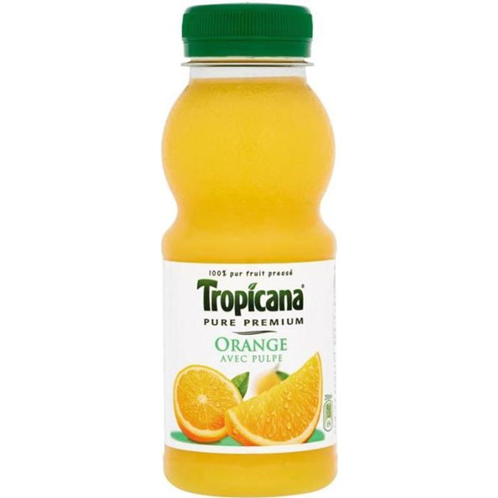 Tropicana Orange Avec Pulpe 25cl (pack de 12)