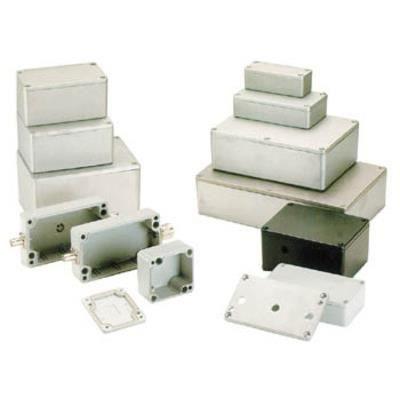 Coffret metallique etanche en aluminium 115 x 65