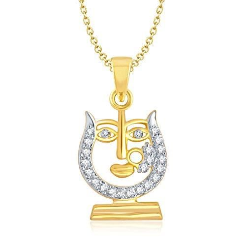 Womens Gold-plated Pendant For Gold-gp118 CGGU2