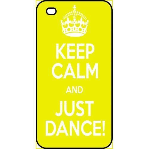 coque apple iphone 4s keep calm just dance
