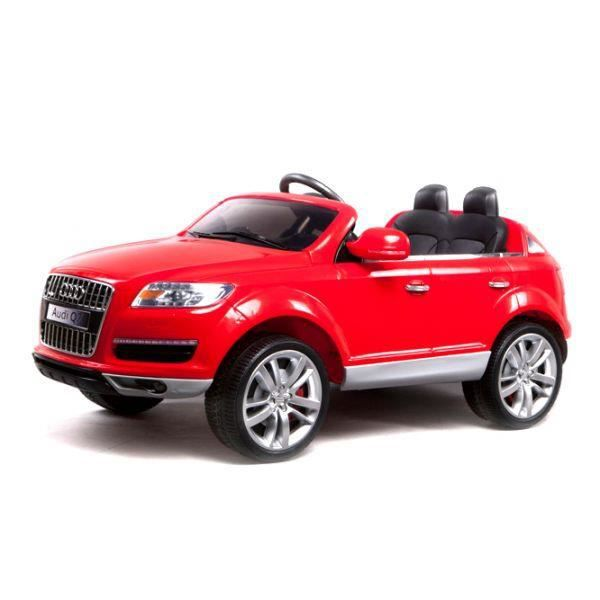 voiture lectrique 12v audi q7 rouge achat vente. Black Bedroom Furniture Sets. Home Design Ideas