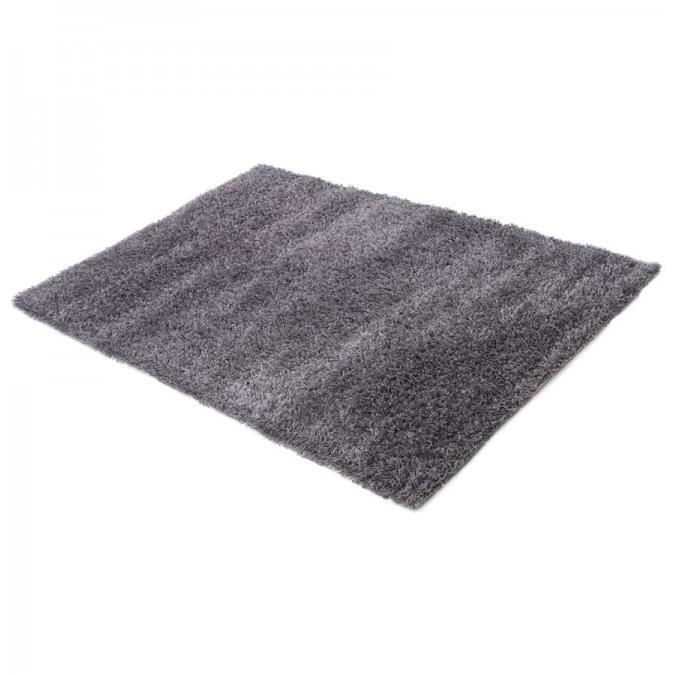 tds design tapis shaggy gris 200x290 dom achat vente tapis cdiscount. Black Bedroom Furniture Sets. Home Design Ideas