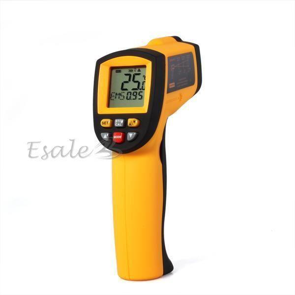 50 to 900℃ Infrarouge Thermomètre Température LCD Sans-Contact Laser Mètre NEUF