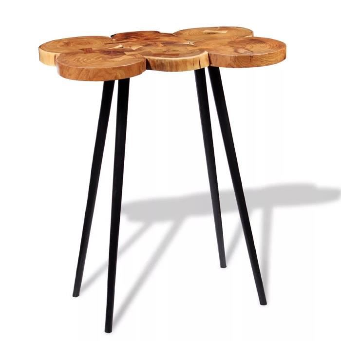 MANGE-DEBOUT TABLE DE BAR style contemporain-DEBOUT Bois d'acac