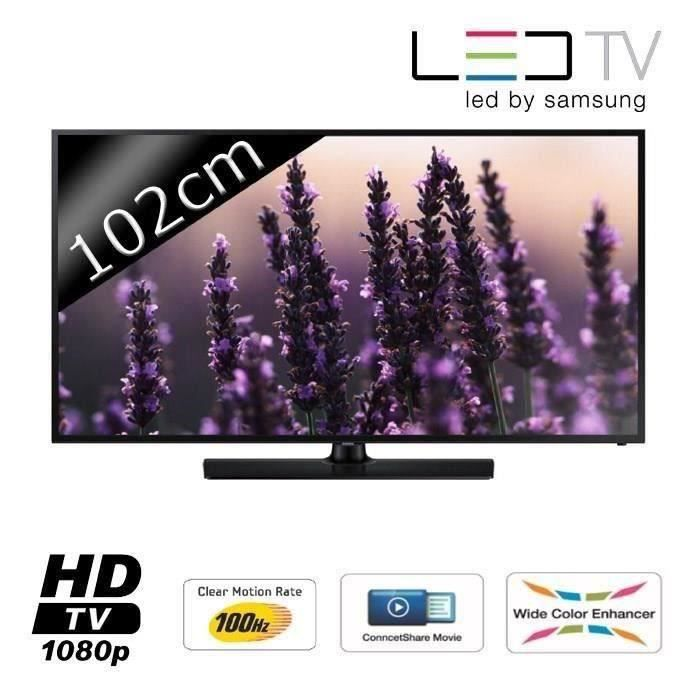 Samsung ue40h5003 tv led full hd 102cm support mural - Support mural tv 102 cm ...